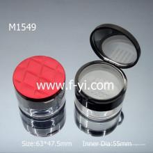 Contenedor de polvo suelto vacío de la marca de fábrica 30ml