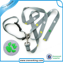 Strong Retractable Dog Collar Leash with Printed Logo