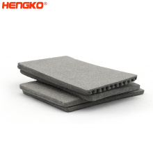 Factory Supply food industry sanitary grade stainless steel powder sintered metal filter sheet