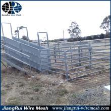 Diseño de la yarda del ganado / puerta galvanizada del panel del ganado