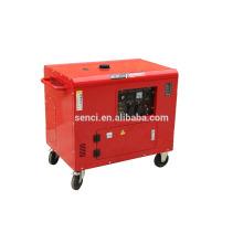 Generador diesel silencioso silencioso de bajo silencio