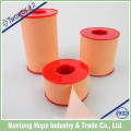 Adhesive plaster tape with skin color