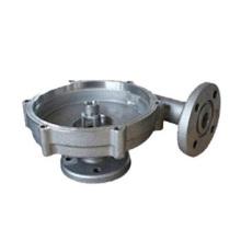 La aleación de aluminio a presión la placa de la fundición con la brida