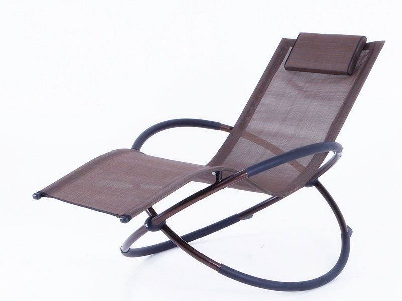 foldable steel rocking chair