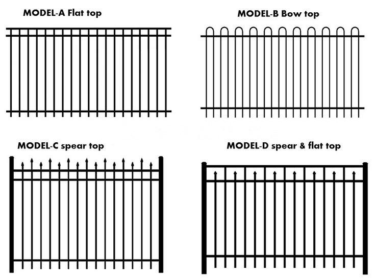 garrison fence,heavy duty security fencing-49