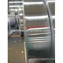 Bande de bord arrondie en aluminium