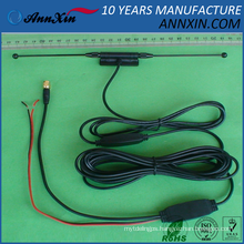 high gain DVB-T antenna with 20dB amplifier with SMA Connector