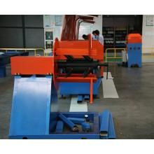 Serie abajo tubo que forma la máquina