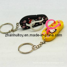 Slippers Key Chain Toy