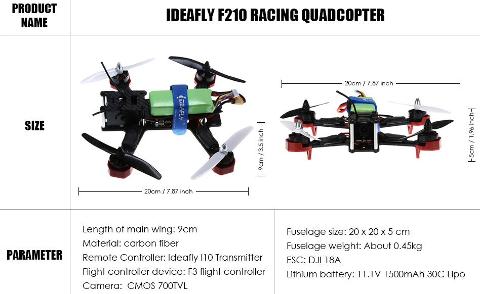 210 Racing Quadcopter