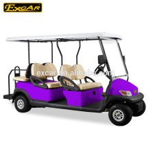 6 seater electric golf cart/48V electric golf cart transmission/4 wheel drive electric golf cart