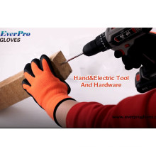 Thermal Insulated Orange Cold Condition Freezer Work Gloves For Winter Construction