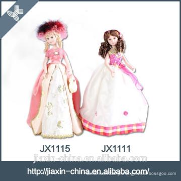 Nice princess doll barato decorativo candeeiro de mesa de cerâmica