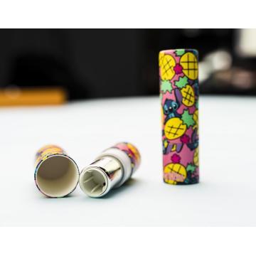 Tubo de lápiz labial de tubos de bálsamo labial kraft ecológico