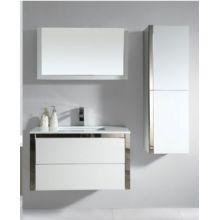 Wood Panel Furniture Bathroom Cabinet Vanity