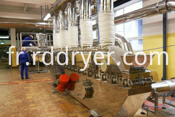 citric acid vibrating Fluid Bed Drying machine
