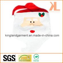 Cuisine de Noël de qualité Décoration Housse de chaise Santa Santa