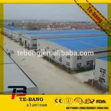 Tinted aluminum roofing sheet at discount price