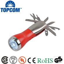 tool set with flashlight