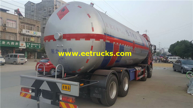 12 Wheel Propane Transport Tankers