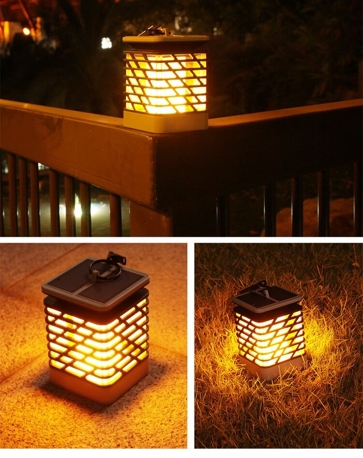 Led Sensor Flame Effect Light