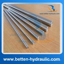 Qpq Varilla de pistón hidráulica Varilla de pistón de cilindro hidráulico de acero cromado