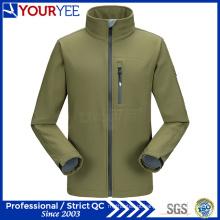 Venda Por Atacado impermeável jaqueta softshell homens com suporte colar (yrk115)