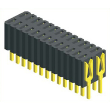 1.27 X 2.54 mm Female Header dubbele rijconnector