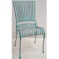 modern metal industrial restaurant chair
