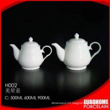 fashion design restaurant use white dinnerware coffee tea pot