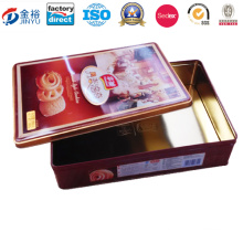 Rectangle Shaped Metal Promotional Wine Box for Wine Beer Storage