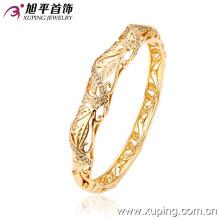 51130 Xuping gold plated thread silk thread jaipur lakh lac indian bangles