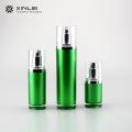 Bouteilles de lotion en plastique cosmétique en PMMA de forme ronde