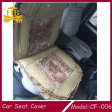Cubierta de cuero de diseño popular del 2016 con asiento de piel