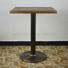 Площадь Винтаж проблемных твердой древесины столик в ресторане (СП-RT467)
