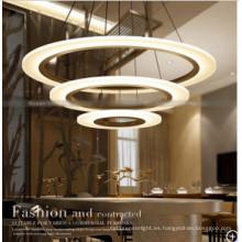 Lámpara colgante redonda moderna del estilo europeo de la lámpara pendiente para el hotel