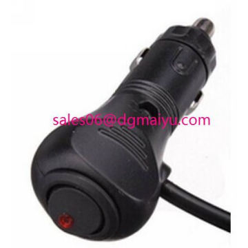 Car Cigarette Lighter Extension Cable 3m with Switch 12V