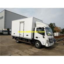 Petits camions congélateurs Auman 2ton