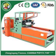 Rebobinadora promocional duradera del carrete del papel de aluminio de la hoja del aire