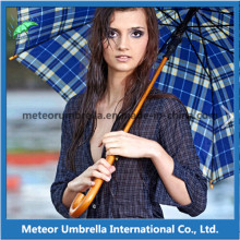 Fashion Wooden Auto Open Golf Patio Umbrella for Outdoor