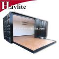 oficina prefabricada móvil envase contenedor oficina plegable