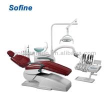 Unidade Odontológica montada na cadeira Unidade Dental Elétrica com Unidade Dental com Cabeça CE