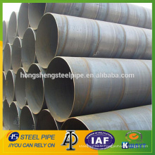 Fabricant de tuyaux en acier soudés en spirale SSAW de grand diamètre en vente depuis la Chine