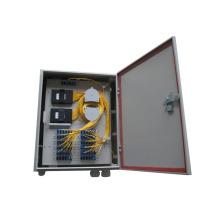 Outdoor Waterproof plastic Fiber Optic Distribution Box for PLC Splitter