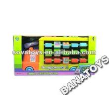 Baby Toy Cartoon Bus with Blocks