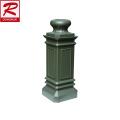 China foundry customized Aluminum Lamp Base aluminium die casting led street light housing cast aluminum post base