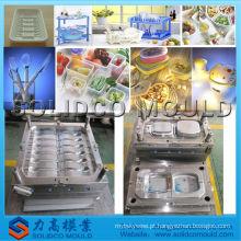Molde profissional dos utensílios de mesa / molde plástico da colher / forquilha / faca