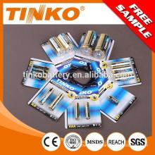 Super-alkaline-Batterie Größe AAA /AA/C/D/9V 12V23A/27A