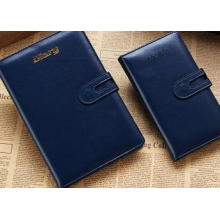 Business Notebook, Leather Notebook with Mantic, Wholesale Notepad Custom Logo
