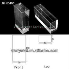 K9 de cristal en blanco para el grabado del laser